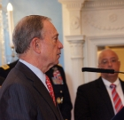 NYC Mayor Michael Bloomberg Gets Political at UNC Graduation
