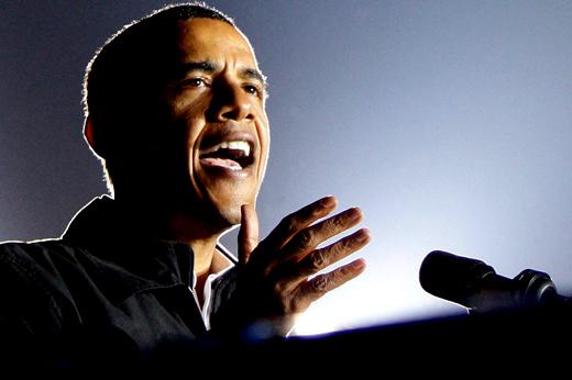 President Barack Obama Acting Like Revivalist Preacher
