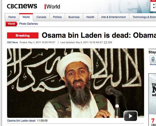 Obama Criticized for Osama Campaign Ad