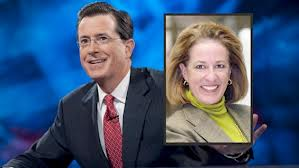 Elizabeth Colbert-Busch and Brother Stephen