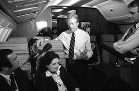 Helen Thomas and Jimmy Carter