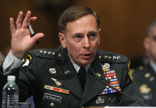Petraeus Pushes Public Support of Strike on Syria
