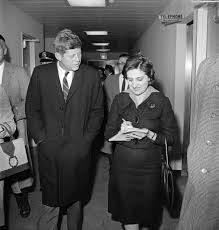 First Date? Helen Thomas and John Kennedy