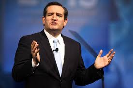 Texas Republican Senator Ted Cruz