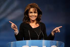 """I told you so,"" Sarah Palin"