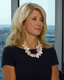 Dem. Sen. Wendy Davis of Texas