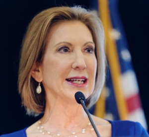 Carly Fiorina. Photo by Michael Vadon