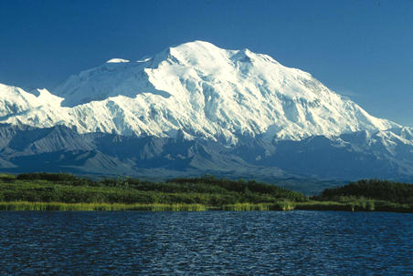 Denali - Mt. McKinley Highest point in North America