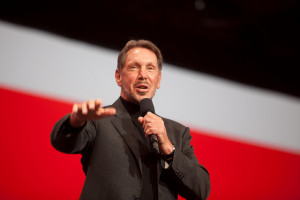 Larry Ellison, Photo courtesy of Hartmann Studios