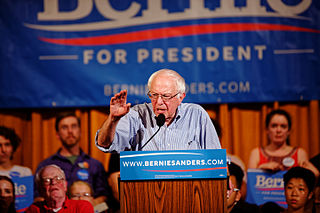 US Senator of Vermont Bernie Sanders in Littleton NH on August 24th, 2015 by Michael Vadon