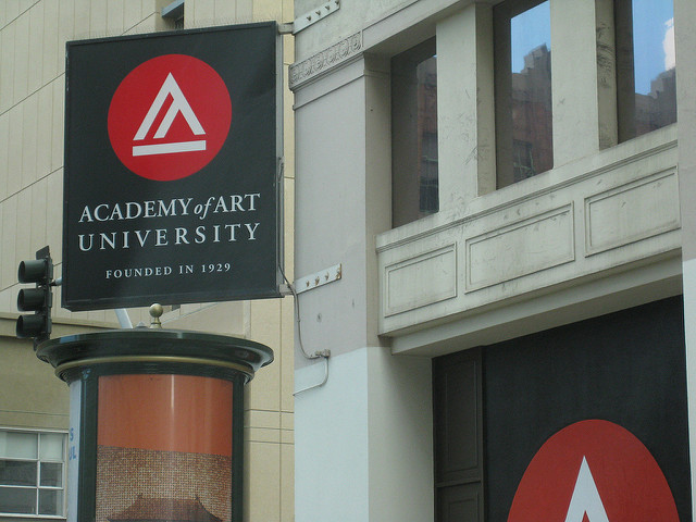 Photo of the Academy of Art University by Missy Martinez and Flickr