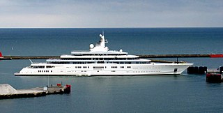 Russian Yacht Heading to Palm Beach Florida