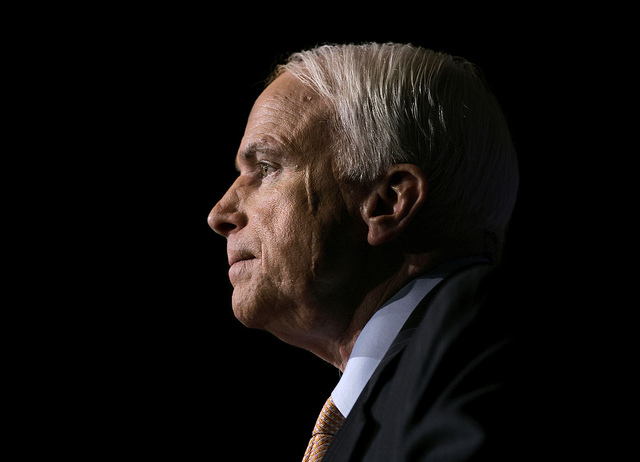 John McCain, War Hero and Longtime Senator, Honored in Washington Ceremonies
