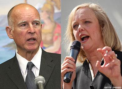 Jerry Brown Debates Meg Whitman