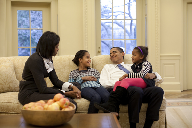 Obama's Father's Day as Seen on Pinterest