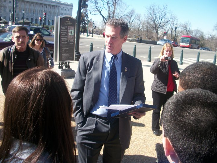 Senator Brown Against Federal Gun Control