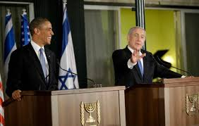 PM Netanyahu with President Obama at Press Conference