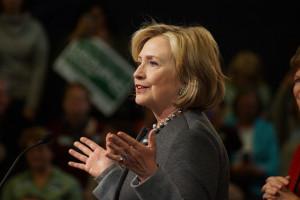 Hillary Clinton Photo by Marc Nozell courtesy of Flickr
