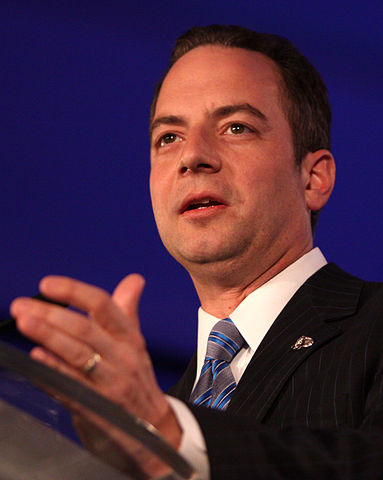 GOP Chair Priebus Happy with Trump Campaign