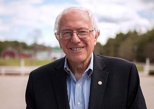 Bernie Sanders Burning Hillary