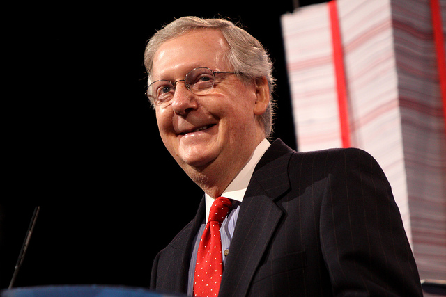 McConnell Resurrecting the Otherwise Dead Repeal and Replace Issue?