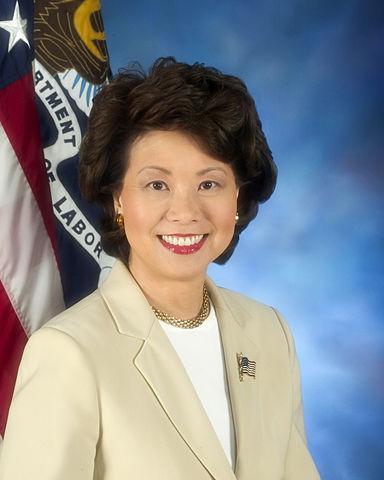 Former Labor Secretary Elaine Chao